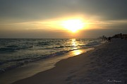 Panama City Beach Posters - Rays of Hope Poster by Debra Forand