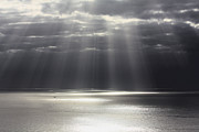 Sun Breaking Through Clouds Art - Rays of Hope by Shane Bechler
