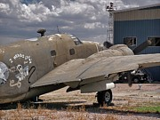 Lockheed Photo Metal Prints - RB-37 Patrol Bomber Metal Print by Ken Smith