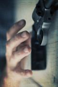 Reaching For A Gun Print by Edward Fielding