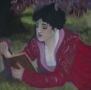 Kate Farrant - Reading in the Garden