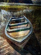 Rowboat Digital Art - Ready for summer trips by Gun Legler