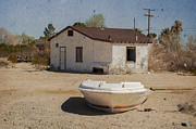 Abandoned Boats Prints - Ready for the Flood Print by J B Thompson