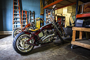 Sportster Photos - Ready to Roll by CJ Schmit