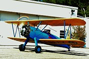 Stearman Prints - Ready to Takeoff Print by Heidi Feather