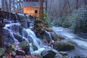 Gatlinburg Framed Prints - Reagans Mill Framed Print by Doug McPherson
