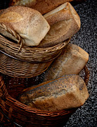 Loaf Of Bread Photo Prints - Real Bread Print by Odd Jeppesen