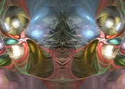 Imagination Digital Art Originals - Real joy is a serious matter - Surrealism by Sipo Liimatainen