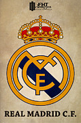 Spanish Football Prints - Real Madrid Fc Print by Farhad Tamim