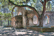 St. Helena Photos - Rear View of the Chapel Of Ease by Scott Hansen