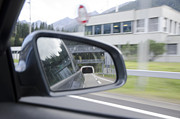Traffic Control Photo Posters - Rearview mirror Poster by Mats Silvan