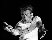 James Dean Prints - Rebel Without a Cause Print by Sanely Great