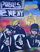 Rap Painting Originals - Rebels without a Pause by Tony B Conscious