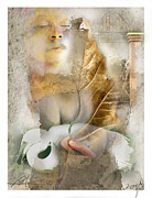 People Mixed Media Prints - Rebirth Print by Bob Salo