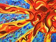 Reborn Sun Print by David Keenan