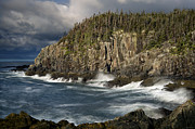 Gullivers Photos - Receding Storm at Gullivers Hole by Marty Saccone