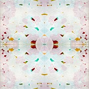 Tibet Digital Art Prints - Recombinant Mandala 2 Print by Paul Ashby