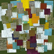 Outside Mixed Media - Reconstructing Fences l  by Michelle Calkins