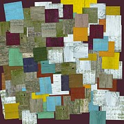 Stripes Mixed Media - Reconstructing Fences ll by Michelle Calkins