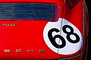 Classic Porsche 911 Photos - Red 1969 Porsche 911 by Stuart Row