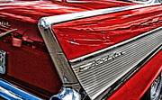 454 Photos - Red 57 Chevy - No.333H by Joe Finney