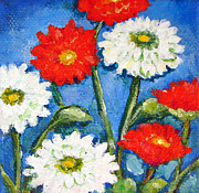 Ashleigh Dyan Bayer - Red and White Flowers...