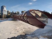 Pamela Funk - Red Angles Bridge Calgary