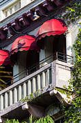 Van Dyke Art - Red Awnings at the Van Dyke by Ed Gleichman