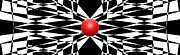 Red Ball 16 Print by Mike McGlothlen