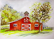 Yvonne Ayoub - Red Barn Quebec Canada