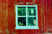 Daniel Thompson - Red Barn Window