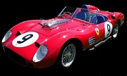 Ferrari Gto Photos - Red Beauty by Gennaro Orlando