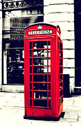Joan McCool - Red British Telephone...