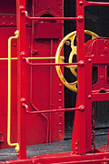 Caboose Prints - Red Caboose Print by Paul W Faust -  Impressions of Light