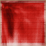 _artkansas Mixed Media - Red canvas by Yanni Theodorou