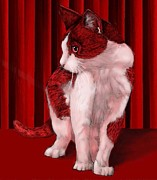 Pamela Shelton - Red Cat