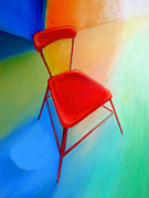 Frederick   Luff  Gallery - Red Chair Painting