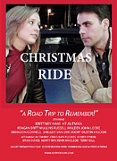 Karen Francis - Red Christmas Ride Poster