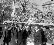 Raising Art - Red Cross Banana Auction by Underwood Archives