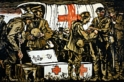 Medic Prints - Red Cross Poster, 1915 Print by Granger