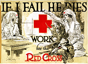 Mccoy Photo Framed Prints - RED CROSS POSTER, c1918 Framed Print by Granger