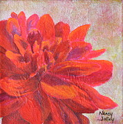 Nancy Jolley - Red Dahlia 2