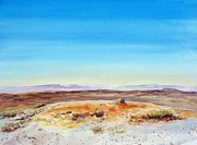 Wyoming Paintings - Red Desert Wyoming by Todd Derr