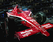 Formula One Photos - Red by Diane E Berry