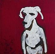 Tablou Art - Red Dog by Amy Marie Adams