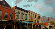 Settlers Framed Prints - Red Dog Saloon Framed Print by Cheryl Young
