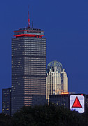 Prudential Center Photo Prints - Red Dominance Print by Juergen Roth