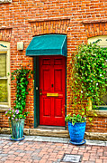 Fort Collins Art - Red Door 2 by Keith Ducker