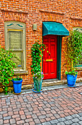 Fort Collins Art - Red Door 5 by Keith Ducker