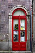James Brunker - Red Door and Cermaic Wall